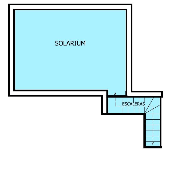 Terraza solárium